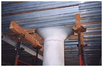 Concrete column forms